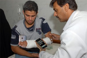 Most medical professionals use a smartphone of some kind